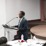 """Dean Maurice Odine introduces the Panel for Day Two of TSUCommWeek """"Future of the Radio"""""""